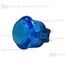 Sanwa Button OBSC-24-B (Clear Blue)