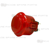 Sanwa Button OBSC-24-R (Clear Red)