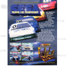 Sega Touring Car Championship PCB Gameboard (No filter board)