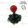 Sanwa Joystick JLF-TP-8Y-SK-VER (Vermilion)