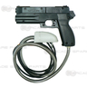 Gun Assembly for Time Crisis 1 & 2 and Point Blank (Black)