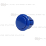Sanwa Button OBSF-24-MB (Matt Blue)