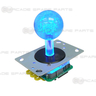 Blue Illuminated Joystick for Fishing Game Machine