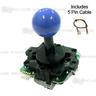 Sanwa Joystick JLF-TP-8Y-SK-MB (Matt Blue)