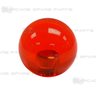 Clear Red Ball Top