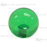 Clear Green Ball Top