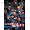 Virtua Cop 3 Arcade Game Poster