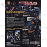 Virtua Cop 3 Arcade Game Brochure