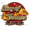 King of Treasures Plus Arcade Game Logo