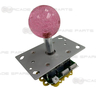 Illuminated Joystick(Pink) for Fishing Game Machines Angle View